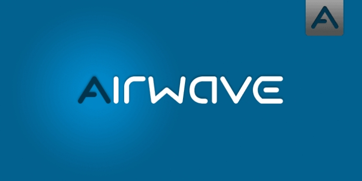 Airwave font preview